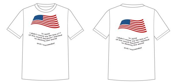 Non voters T-shirt
